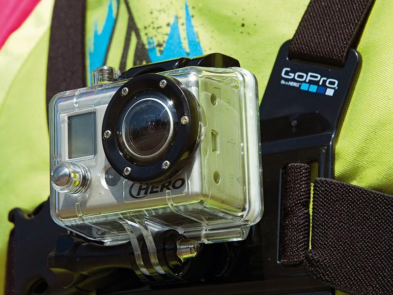 GoPro HD Helmet Hero camera