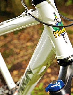 For an otherwise understated bike, the Malt 4's shape-shifting tubes take hydroforming close to the technology's limits