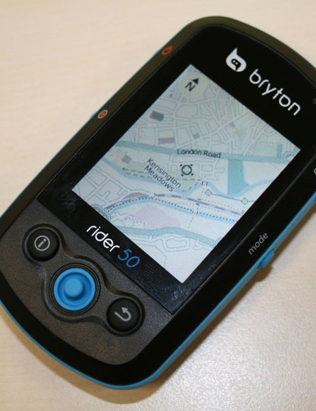 The Bryton Rider 50 uses OpenStreetMap, including bridleways and cycle paths in some countires
