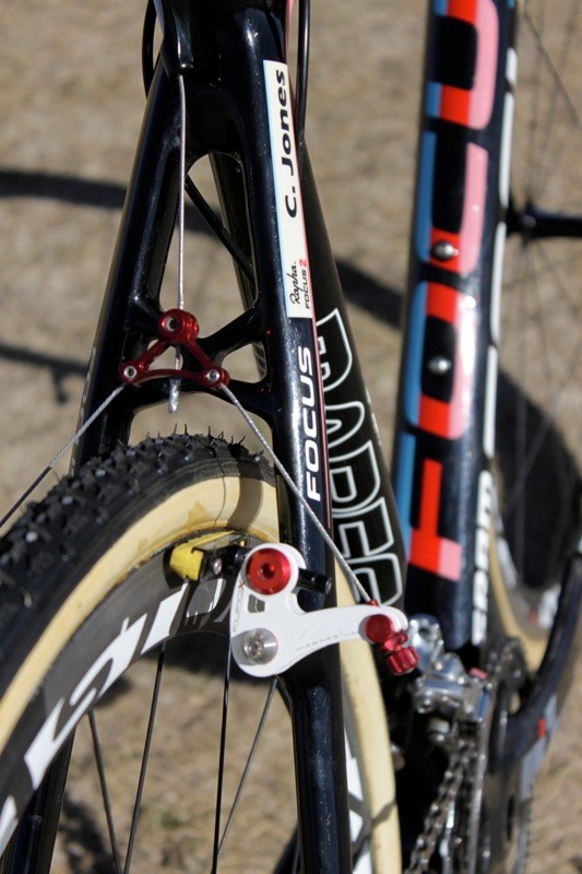 Jones uses TRP's EuroX Magnesium with SwissStop's Yellow King brake pads