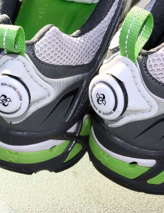 These Sentinel shoes from The North Face also have a Boa closure, which is much easier than laces to operate one-handed