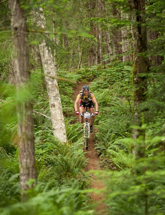 "The race is billed as the ""Ultimate Single Track Experience"""