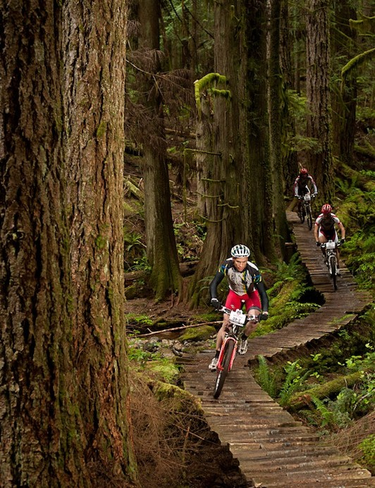 The race's trails are legendary by any rider's measure