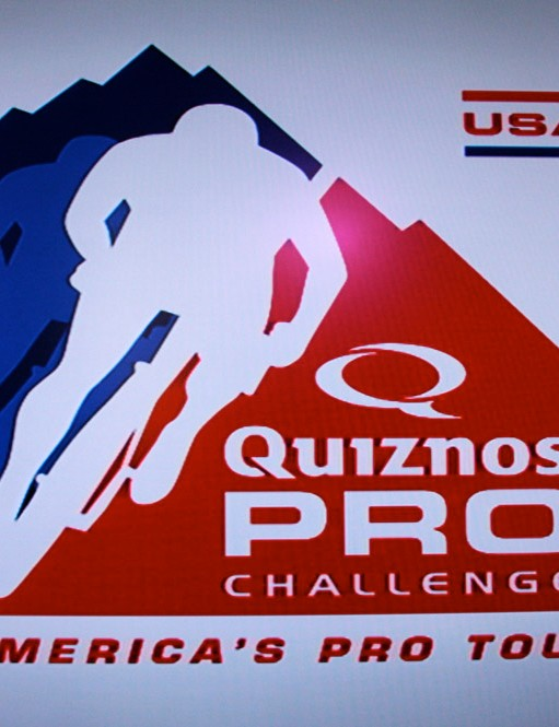 The new Quiznos Pro Challenge logo