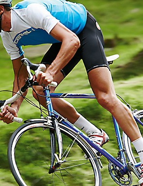Get out of the saddle on a steep climb and there's very little movement from the bottom bracket