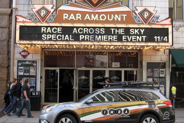 Race Across the Sky premiered with a special event in Denver
