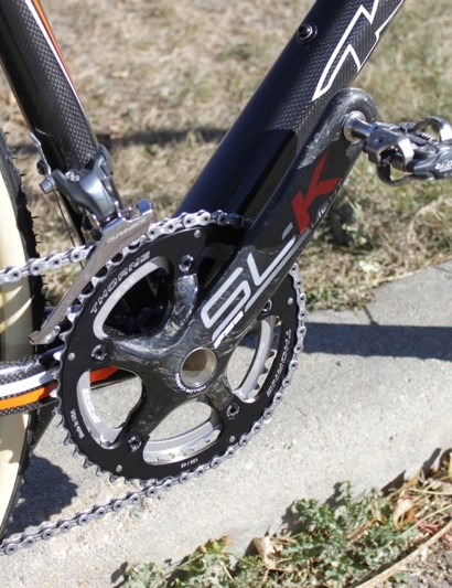 Trebon's SL-K crank uses FSA's MegaExo spindle; the brand don't make a BB30 crank with 177.5mm arms