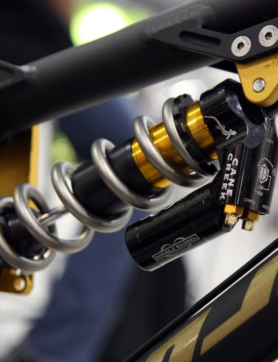 Cane Creek's Double Barrel rear shock is still alive and well