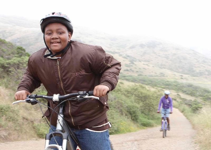 Trips for Kids put at-risk youth on bikes to instill confidence and inspire positive choices