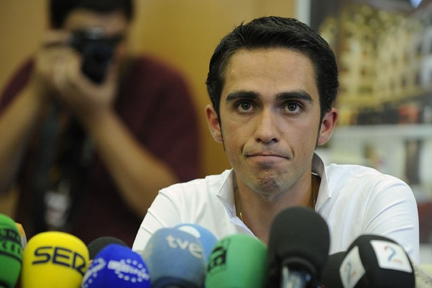 The UCI has asked the Spanish cycling federation to open disciplinary proceedings against Alberto Contador
