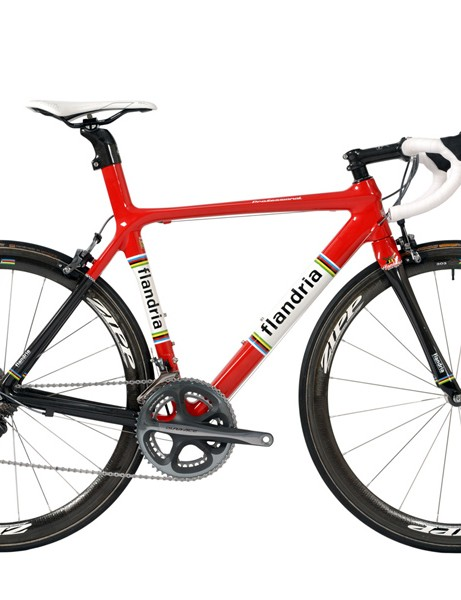 The Flandria Professional is a dedicated race machine