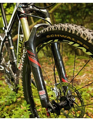 We like air-sprung forks. They're light and easy to adjust for different rider weights and different riding styles