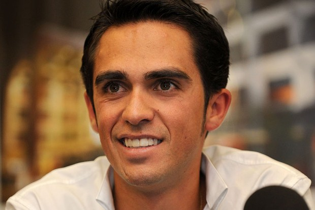 Alberto Contador is happy that his doping case is moving forward