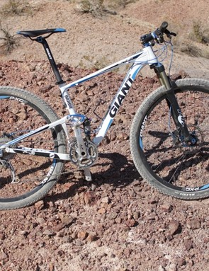 Barbie, a 2011 Anthem X 29er from Giant's demo fleet