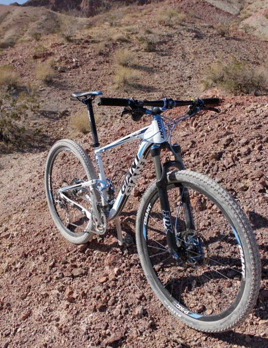 The Anthem X 29er has the potential to be one of Giant's hottest bikes in 2011