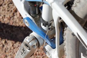 The PowerCore bottom bracket accepts both SRAM (GXP) and Shimano press-fit bottom brackets