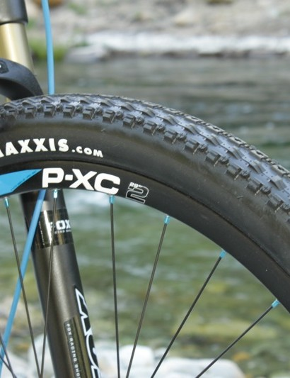 We found the P-XC wheels felt sluggish