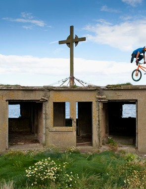 Danny MacAskill in the Forth Estuary
