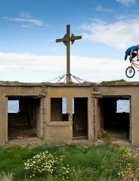 Danny MacAskill in the Forth Estuary