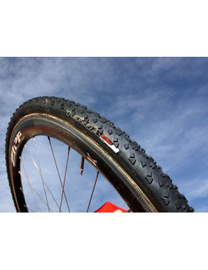 Specialized's new Terra uses tall, aggressive knobs and an open pattern for grip in mud and snow