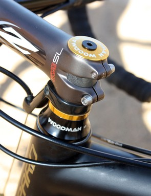 Woodman Components continue to sponsor Joachim Parbo for the 2010-11 season