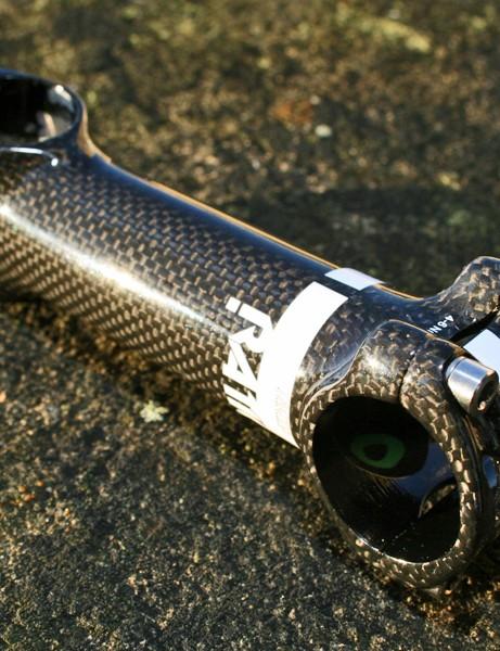 RATIO Tacto carbon-wrapped 7050-T6 aluminium stem