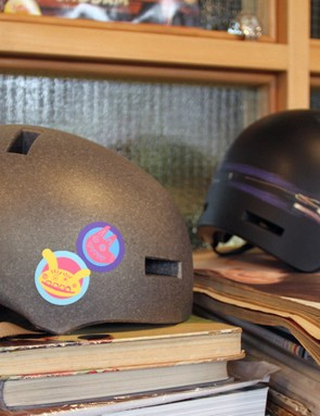 Paul Smith for Giro Sticker and Light Rail helmet designs