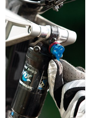 Fox's ProPedal platform damping can be adjusted