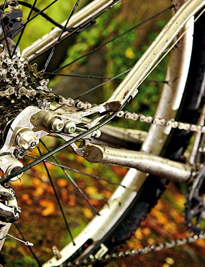 The adjustable dropout lets you choose between singlespeed or geared set-ups