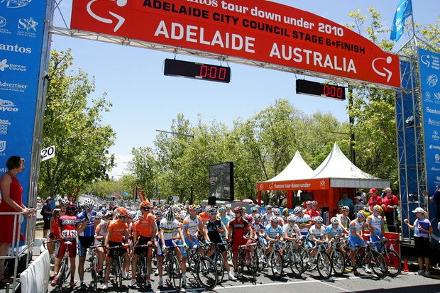 The Tour Down Under will kick off the UCI's new WorldTour in 2011