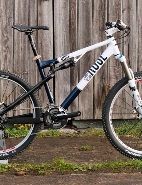 Rose's Jabba Wood is a 130mm-travel trail bike. Prices range from £1,549 to £2,999 depending on spec