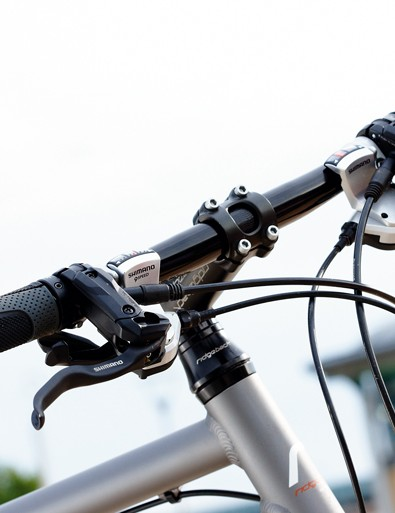 Some parts of the kit won't agree with everyone – most obviously the narrow, straight courier-style handlebar