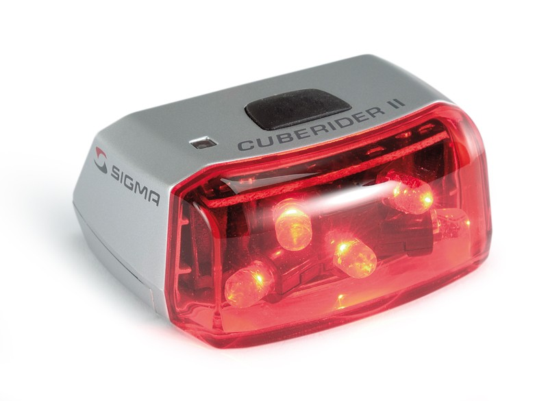 Sigma Cuberider II front light