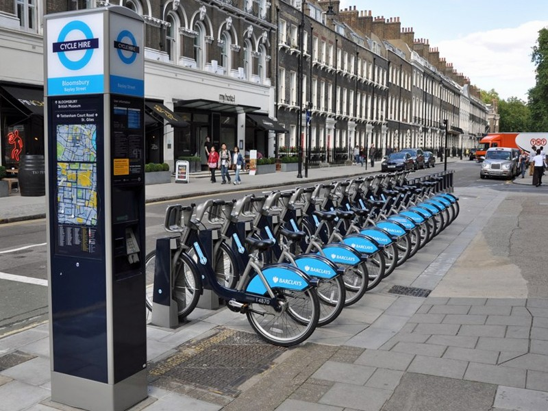 Casual users can now hire 'Boris bikes' for as little as £1