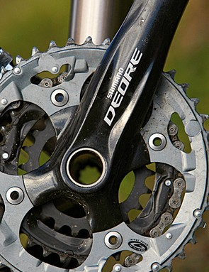 Shimano Deore parts perform reliably