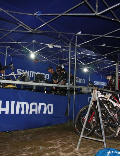 A late night for Shimano