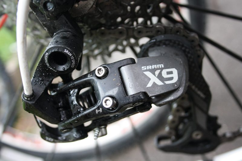 New SRAM X5 Mountain Rear Mech Derailleur 9-speed Medium cage