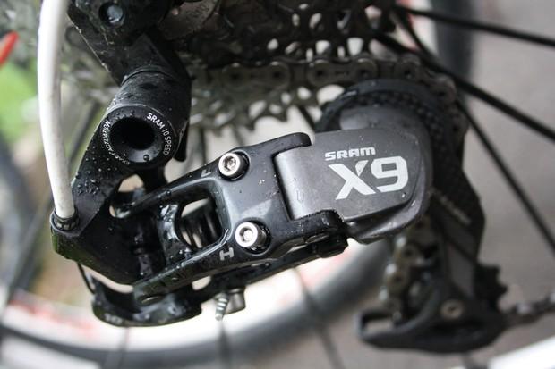 SRAM X9 rear derailleur