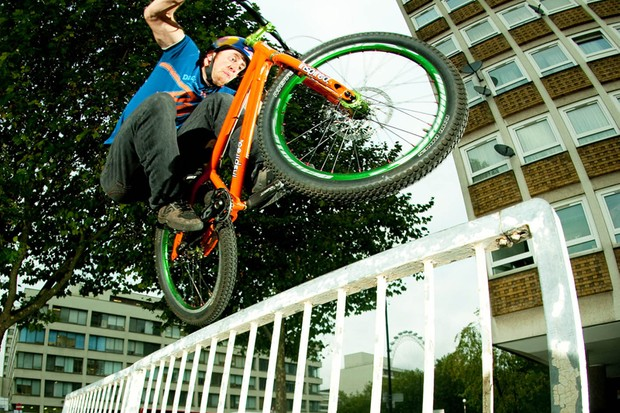 Danny MacAskill hits the English capital in his latest riding clip