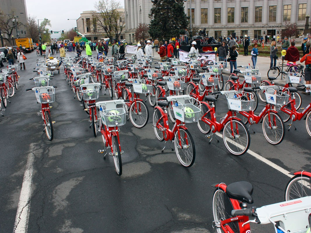 New York is set to see the world's biggest bike-share programme