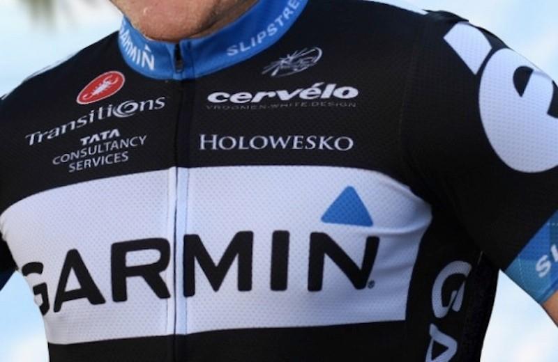 A peek at Garmin-Cervélo's new kit