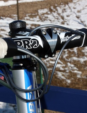 Keeping the cable housing on the same side of the head tube – instead of crossing them around – makes for a tidier front end that's less likely to snag when portaging