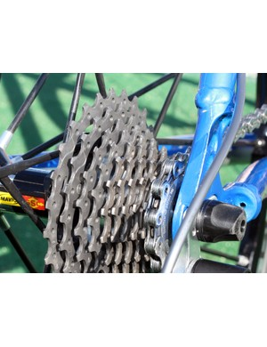 Drivetrains are barely this clean when new, let alone halfway through a US domestic 'cross season