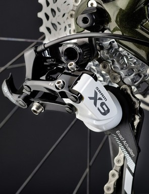 Shifting is courtesy of SRAM X9