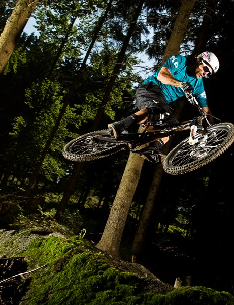 Canyon's Torque series also includes single-crown-forked freeride bikes
