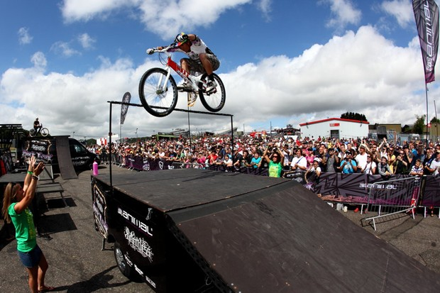 Martyn Ashton and his crew will show off their trials, street riding and dirt jumping skills at The London Bike Show 2011