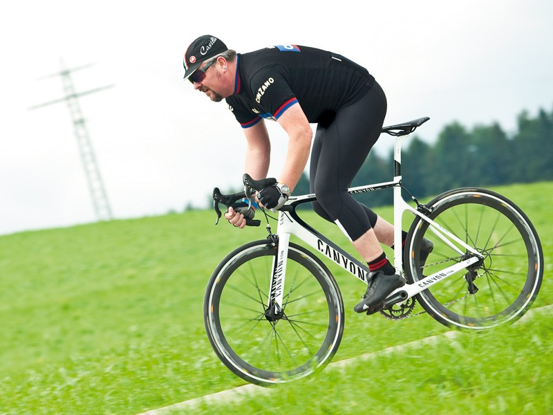 The comfort levels are far beyond what you'd expect of an aero bike