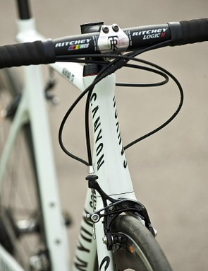 Compared to the company's pro-level Ultimate, as used by Lotto, the Aeroad has 20 per cent less frontal area