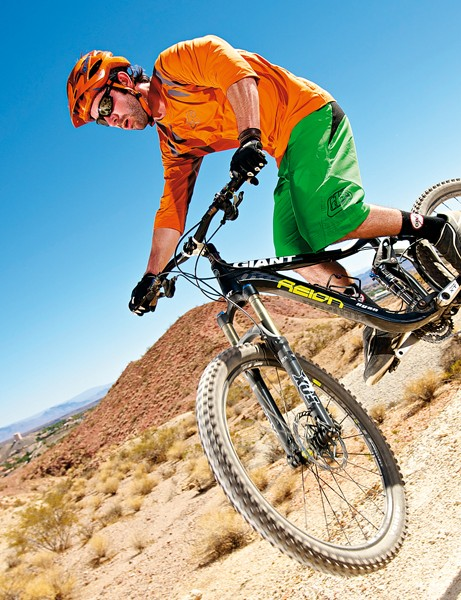 Sure-footed, stiff and light, the Reign is a competent long-distance trail bike