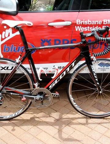The Pegasus Sports team will be riding Scott's new F01 aero road bike in 2011